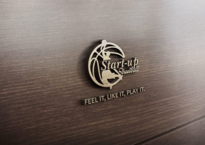Startup Street Ball 3D Logo by stamsgroup