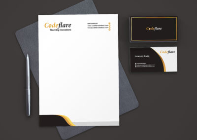 coderflare brand by stamsgroup