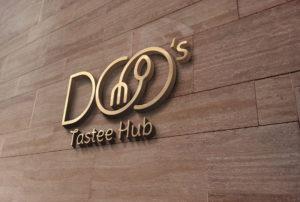 DOO TASTEE HUB LOGO 3D - stamsgroup.com