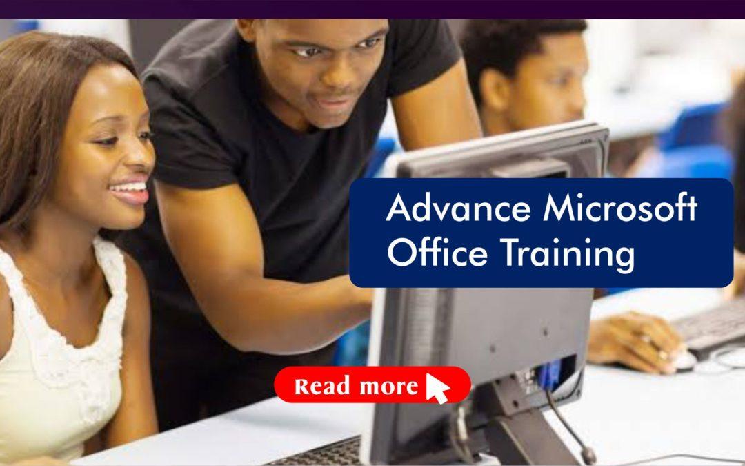 Advance Microsoft Office