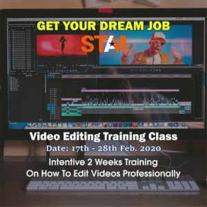 video editing training STAMSGROUP Computer/ICT Training Center Abuja