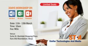 Microsoft office training Stellar technologies and media stamsgroup.com