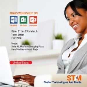 Microsoft office training Stellar technologies and media stamsgroup.com