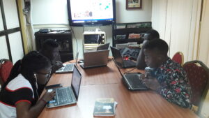 graphics design training at summer ict training abuja