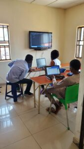 Front end programming class at stellar technologies an media abuja