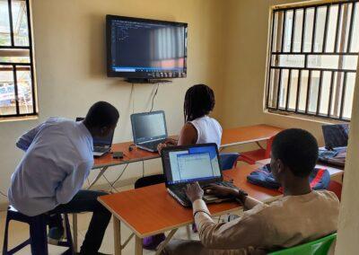 Front end programming class at stellar technologies an media abuja
